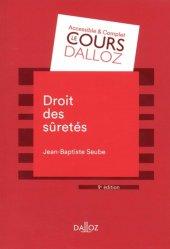 Dernières parutions sur Droit des sûretés, Droit des sûretés. Edition 2018