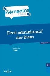 Dernières parutions sur Droit des biens, Droit administratif des biens. 1e édition