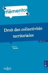 Dernières parutions sur Décentralisation et collectivités territoriales, Droit des collectivités territoriales. 3e édition