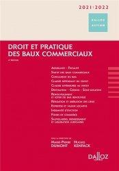 Dernières parutions sur Baux commerciaux, Droit et pratique des baux commerciaux. Edition 2020-2021