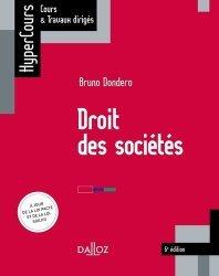 Dernières parutions dans HyperCours, Droit des sociétés. 6e édition