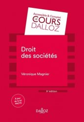 Dernières parutions sur Droit des sociétés, Droit des sociétés. 9e édition