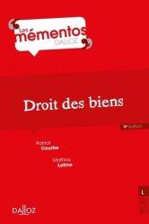 Dernières parutions dans Mémentos Dalloz. Série Droit Privé, Droit des biens. 9e édition