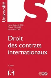 Dernières parutions dans Sirey Université, Droit des contrats internationaux. Edition 2020