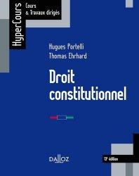 Dernières parutions dans HyperCours, Droit constitutionnel. 13e édition