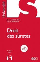 Dernières parutions dans Sirey Université, Droit des sûretés. 7e édition