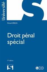Dernières parutions dans Sirey Université, Droit pénal spécial. 17e édition