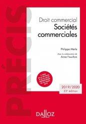 Dernières parutions sur Droit des sociétés, Droit commercial. Sociétés commerciales, Edition 2019-2020