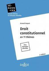 Dernières parutions dans Séquences, Droit constitutionnel. Edition 2019
