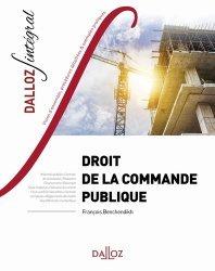 Dernières parutions sur Autres ouvrages de droit public, Droit de la commande publique. Edition 2019