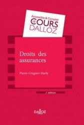Nouvelle édition Droit des assurances