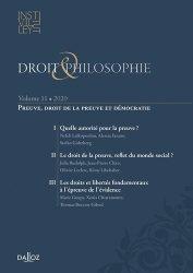 Dernières parutions sur Revues de droit et justice, Droit & Philosophie N° 10/2020