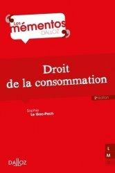 Dernières parutions sur Concurrence et consommation, Droit de la consommation - 2e ed.