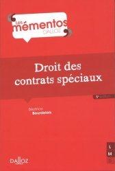 Nouvelle édition Droit des contrats spéciaux