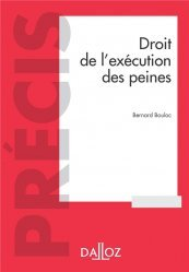 Dernières parutions dans Précis, Droit de l'exécution des sanctions pénales - 6e ed.