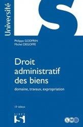 Dernières parutions sur Domaine public expropriation, Droit administratif des biens