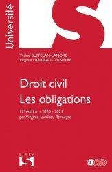 Dernières parutions sur Droit des obligations, Droit civil