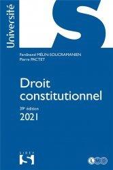 Dernières parutions dans Sirey Université, Droit constitutionnel