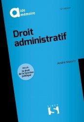 Dernières parutions sur Droit administratif général, Droit administratif