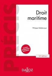 Dernières parutions sur Droit des transports, Droit maritime. 14e édition