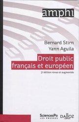Dernières parutions sur Droit européen : textes, Droit public français et européen