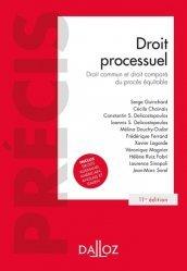 Dernières parutions dans Précis, Droit processuel