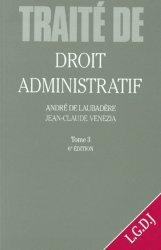 Dernières parutions dans Traité de droit civil, DROIT ADMINISTRATIF. Tome 3, 6ème édition 1997