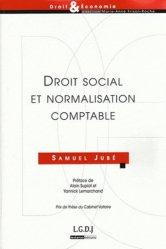 Dernières parutions dans Droit & Economie, Droit social et normalisation comptable