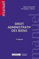 Dernières parutions dans Manuels, Droit administratif des biens. 2e édition