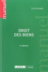 Dernières parutions dans Manuels, Droit des biens. 2e édition