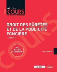 Dernières parutions dans Cours, Droit des sûretés et de la publicité foncière. 3e édition