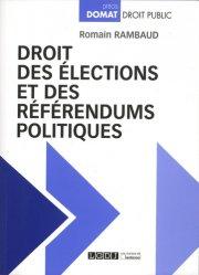 Dernières parutions sur Droit électoral, Droit des élections et des référendums politiques