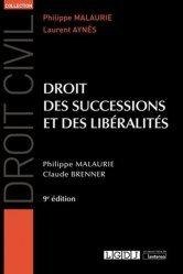 Dernières parutions sur Successions et libéralités, Droit des successions et des libéralités