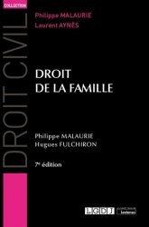 Dernières parutions sur Famille, Droit de la famille