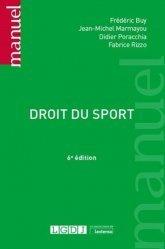 Dernières parutions dans Manuels, Droit du sport