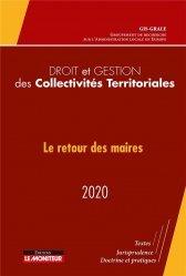 Dernières parutions sur Collectivités locales, Droit et gestion des collectivités territoriales