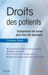 Souvent acheté avec Tout sur Pharmacologie et Thérapeutiques UE 2.11 - Infirmier en IFSI - DEI - Révision - 3e édition, le Droits des patients