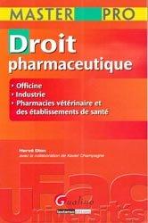 Dernières parutions dans Master pro, Droit pharmaceutique