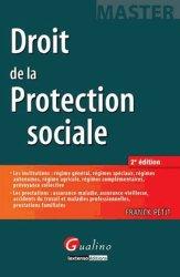 Dernières parutions dans Master, Droit de la protection sociale. 2e édition