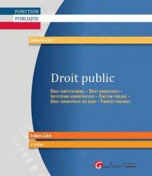 Dernières parutions dans Fonction publique, Droit public. 4e édition