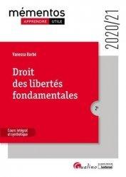 Dernières parutions sur Droits de l'homme, Droit des libertés fondamentales