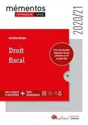 Dernières parutions sur Droit fiscal, Droit fiscal