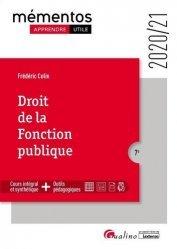 Dernières parutions sur Fonction publique, Droit de la fonction publique. 7e édition