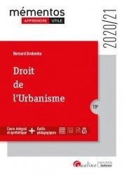 Dernières parutions sur Immobilier et droit de la construction, Droit de l'urbanisme