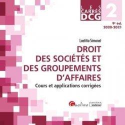 Dernières parutions dans Les Carrés, Droit des sociétés et des groupements d'affaires DCG 2