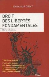 Dernières parutions dans dyna'sup droit, Droits des libertés fondamentales