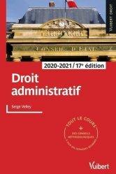 Dernières parutions dans Vuibert Droit, Droit administratif
