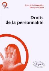 Dernières parutions dans mise au Point, Droits de la personnalité