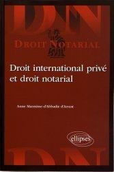 Dernières parutions dans Droit notarial, Droit international privé et droit notarial