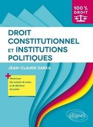 Dernières parutions dans 100% DROIT, Droit constitutionnel et institutions politiques